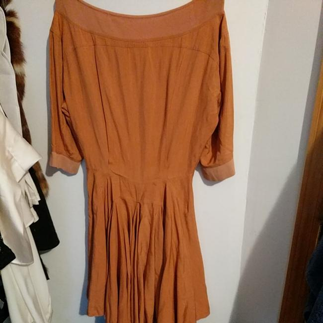 ALAA short dress Camel on Tradesy Image 2