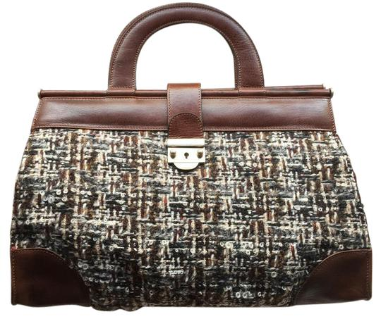 Preload https://img-static.tradesy.com/item/20510041/marni-doctor-s-style-brown-leather-and-tweed-satchel-0-1-540-540.jpg