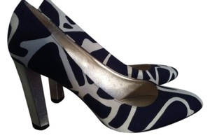 Diane von Furstenberg Black white Pumps