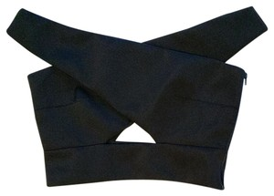 shakuhachi Black Halter Top