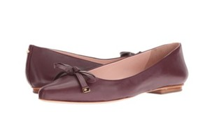 Kate Spade red chestnut / burgundy Flats