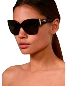Marc Jacobs 307/S Azure Blue Oversized Pearl Detail Sunglasses