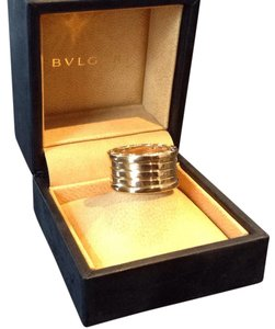 BVLGARI Bvlgari 18k Yellow Gold B.Zero1 5 Band Ring size 8 Ring