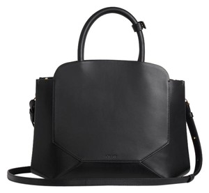 Auxiliary Satchel in Black