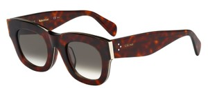 Cline Celine Ladies Sunglasses in Brown and Gold - 41095/S