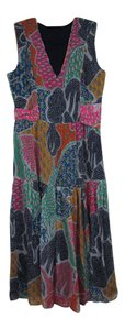 Diane von Furstenberg short dress Multicolor Floral on Tradesy