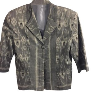 Other GREY THREE PIECE PANT SUIT TWO JACKETS LINED SIZE 8 COTTON WAHSABLE