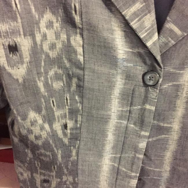 Other GREY THREE PIECE PANT SUIT TWO JACKETS LINED SIZE 8 COTTON WAHSABLE Image 4