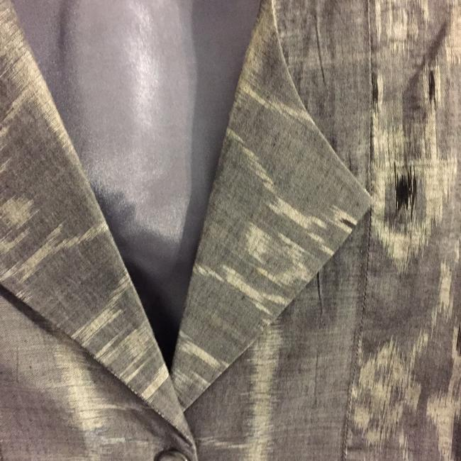 Other GREY THREE PIECE PANT SUIT TWO JACKETS LINED SIZE 8 COTTON WAHSABLE Image 6