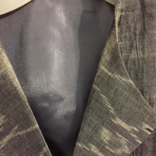 Other GREY THREE PIECE PANT SUIT TWO JACKETS LINED SIZE 8 COTTON WAHSABLE Image 7