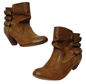 Madden Girl Ankle Brown Boots