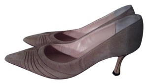 Manolo Blahnik Taupe Pumps