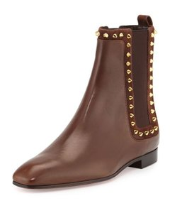 Christian Louboutin Louboutin Marianne Leather Brown Boots