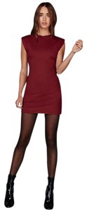 Reformation short dress Garnet on Tradesy