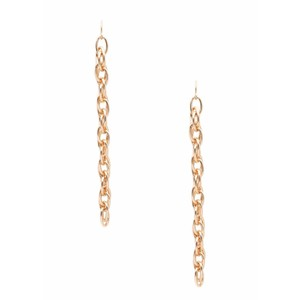 Gorjana Monroe Chain Long Drop Earrings