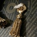 Chantal Thomass Chantal Thomass ,Paris runway gold tassels ,, by Chantal Thomass Image 2