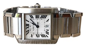 Cartier Cartier Silver Stainless Steel Tank Francaise Watch