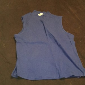 Ambiance Apparel Top royal blue