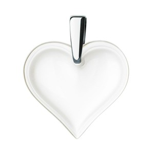 Lalique Clear Heart Pendant