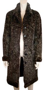 Chanel Sheared Silk Fur Fur Coat