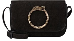 Saint Laurent Ysl Eddie Ring Snake Shoulder Bag