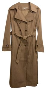 DKNY Very Hard To Find Button-off Hood Midweight Lined Machine Washable Trench Coat