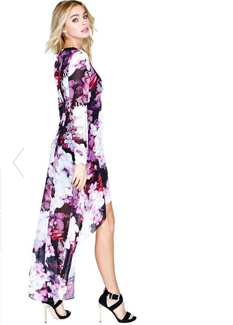 Violet Maxi Dress by Marciano Romantic Gown Lo Floral Image 3