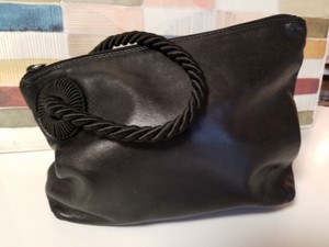 Prada Leather Vintage Clutch Wristlet