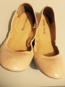 Mossimo Supply Co. Beige Flats
