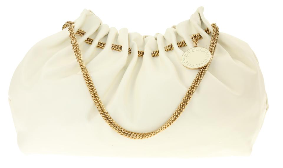 362d08bb30c2 Stella McCartney Noma Ivory White Faux Leather Hobo Bag - Tradesy