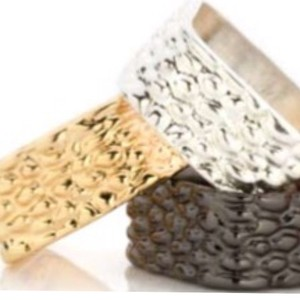 Tuleste Croc Pressed Rings