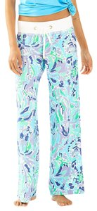 Lilly Pulitzer Wide Leg Pants Blue