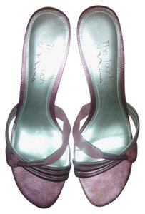 Touch of Nina Vintage Satin Without Tag Free Shipping Light purple Sandals