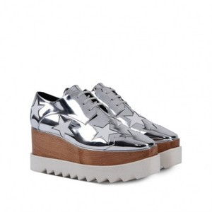 Stella McCartney silver Wedges