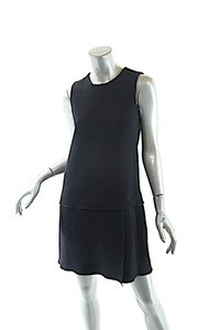 Marc Jacobs Virgin Wool Wool Crepe Drop Waist Dress