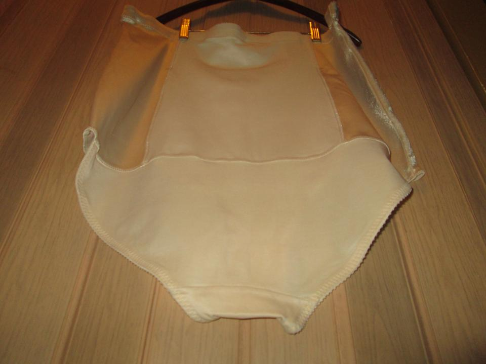 Beige miscellaneous accessories tradesy for Plus size girdle for wedding dress