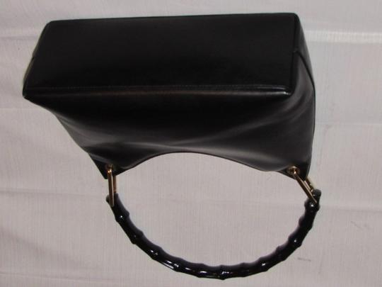Gucci Dressy Or Casual Great Everyday Purse Mint Vintage Gold Hardware Hobo Bag Image 2