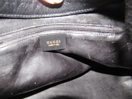 Gucci Dressy Or Casual Great Everyday Purse Mint Vintage Gold Hardware Hobo Bag Image 3
