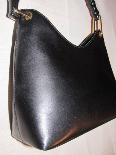 Gucci Dressy Or Casual Great Everyday Purse Mint Vintage Gold Hardware Hobo Bag Image 4