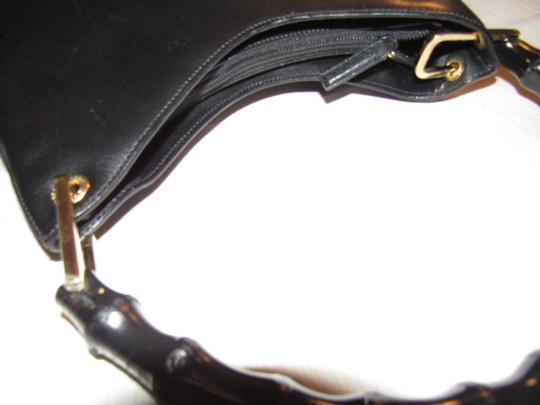 Gucci Dressy Or Casual Great Everyday Purse Mint Vintage Gold Hardware Hobo Bag Image 5