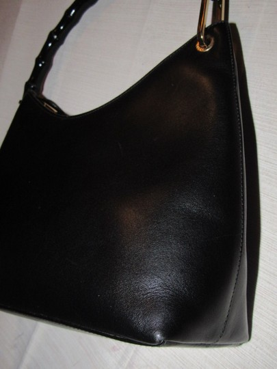 Gucci Dressy Or Casual Great Everyday Purse Mint Vintage Gold Hardware Hobo Bag Image 8
