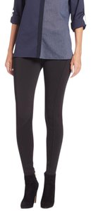 Elie Tahari Black/Navy Leggings