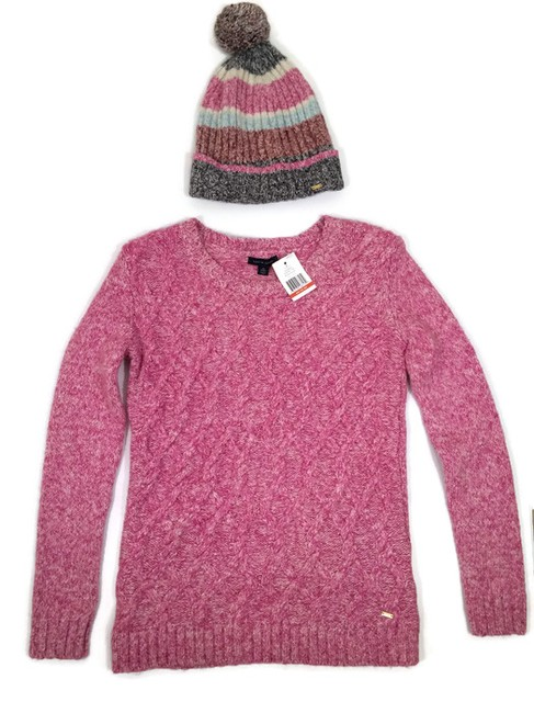 Tommy Hilfiger Beanie Cable Xs Sweater Image 4