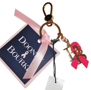 Dooney & Bourke Pink Ribbon DB Awareness Symbol