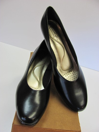 Hush Puppies New Size 9.00 Narrow Excellent Condition Black Pumps Image 1