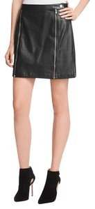 J Brand Mini Skirt Black
