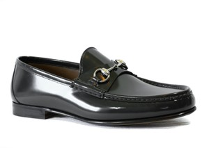 Gucci Loafers Gray Formal