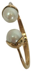 Kate Spade Pearl with gold bangle