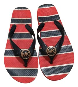 Michael Kors Red white blue Sandals