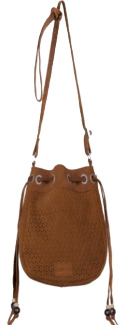 Item - Cinnamon Suede Celestial Brown Cross Body Bag